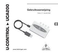 U-CONTROL UCA200 - Behringer