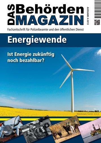 """Projekt """"Energiewende"""" - Gemischter Chor der Polizei Berlin e. V."""
