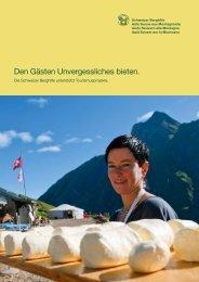 Infobroschüre - Schweizer Berghilfe