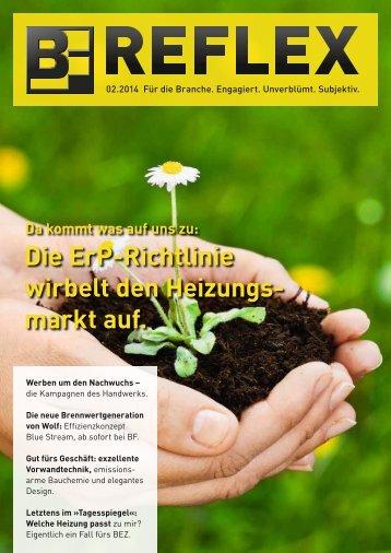 BF.REFLEX Ausgabe 02/14 downloaden - Bergmann & Franz