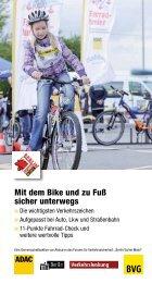 Mit dem Bike und zu Fuß sicher unterwegs Informationsbroschüre ...