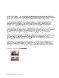 Der Gerätewagen Sanität (GW San) ist ein Einsatzfahrzeug für ...