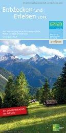 Entdecken und Erleben 2013 - Bergün Filisur