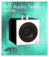 Nti Audio Talkbox