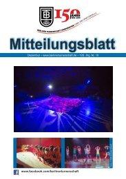 Mitteilungsblatt - Berliner Turnerschaft
