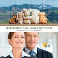 Vereinbarkeit von Familie und beruf – Praxisbeispiele