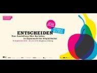 Workshop KLUG ENTSCHEIDEN MIT KOPF UND BAUCH - Berner ...