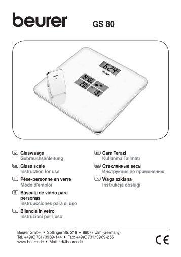 Descargar (PDF) - Beurer