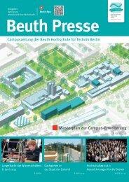 1 Masterplan zur Campus-Erweiterung - Beuth Hochschule für ...