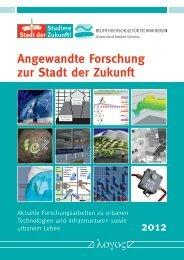Angewandte Forschung zur Stadt der Zukunft - Beuth Hochschule ...