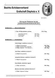 die Liste der LM-Geehrten 2013