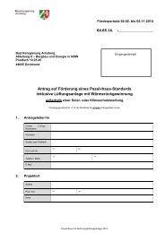 Ihren Antrag und die erforderlichen Unterlagen senden Sie bitte an ...