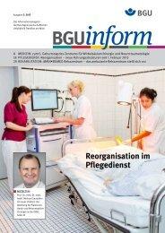 BGUinform 2/2013 (PDF) - Berufsgenossenschaftliche Unfallklinik ...