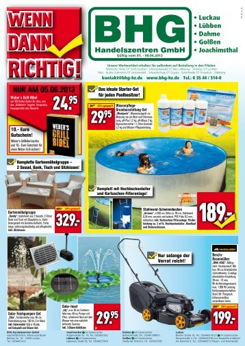 RICHTIG! - BHG Handelszentren GmbH