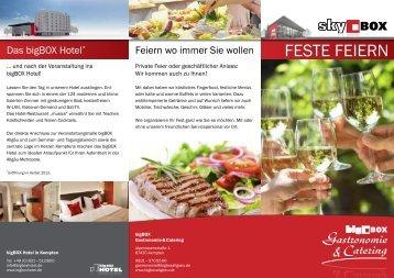 Feste Feiern - bigBOX Allgäu