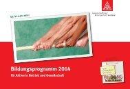 Bildungsprogramm 2014 - Bildungszentrum Lohr - Bad Orb