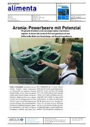 Aroma: Powerbeere mit Potenzial - Bioaktuell.ch