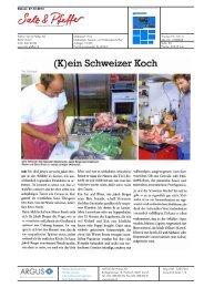 (K)ein Schweizer Koch - Bioaktuell.ch