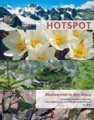 HOTSPOT 27/2013 - Forum biodiversité Suisse