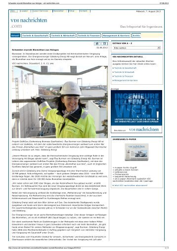 Weitere Informationen - Biogaspartner