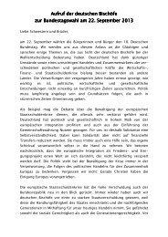 Aufruf zur Bundestagswahl - Bistum Augsburg