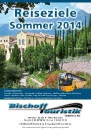 Reiseziele Reiseziele - Bischoff Touristik