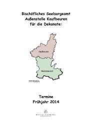 2014-Frühjahr-Infoheft - Bistum Augsburg