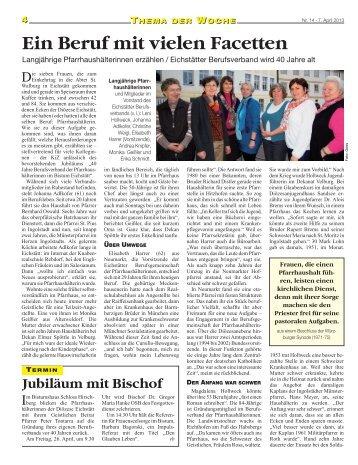 Beitrag als PDF - Bistum