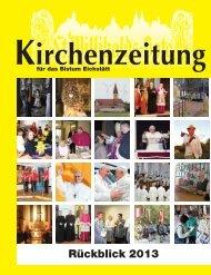 Jahresrückblick 2013 als PDF herunterladen - Bistum