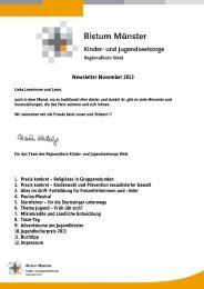 Newsletter November 2013 - Bistum Münster