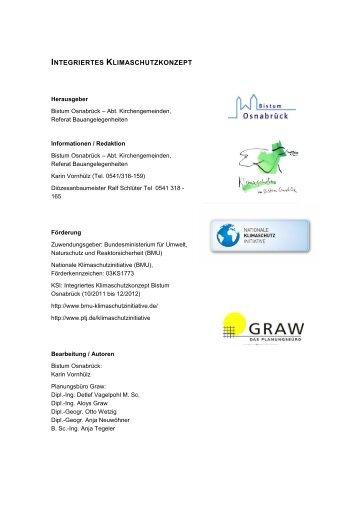 finden Sie das Integrierte Klimaschutzkonzept ... - Bistum Osnabrück
