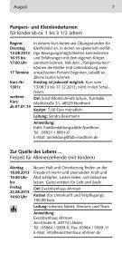 Familienprogramm - Bistum Osnabrück - Page 7