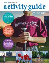 2014 Winter/Spring Activities Guide - City of Blue Ash
