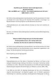 Wissenschaftliche Empfehlung - Bundesministerium für Arbeit und ...