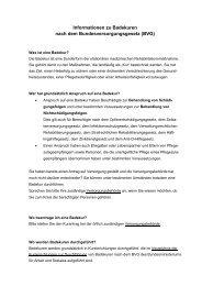 Informationen zu Badekuren nach dem Bundesversorgungsgesetz ...