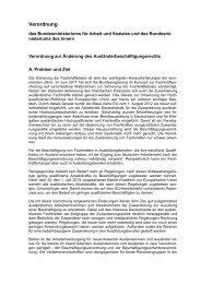 Verordnung zur Änderung des Ausländerbeschäftigungsrechts (PDF)