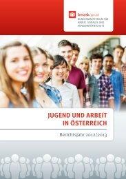 Broschüre Jugend und Arbeit in Österreich 2012/2013 über das ...