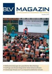 BLV Magazin 4-2007 - Berufsschullehrerverband Baden-Württemberg