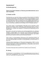 Entwurf eines Dritten Gesetzes zur Änderung arzneimittelrechtlicher ...