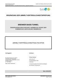 UVG Gutachten - Bundesministerium für Verkehr, Innovation und ...