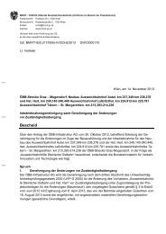 Inbetriebnahmebescheid vom 14. November 2013 (pdf 444 KB)