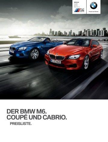 Preisliste (PDF - 1,0 MB) - BMW Deutschland