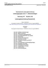 HT-010 Leistungsbeschreibung (Leistungsbeschreibung HT-010)