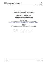 Leistungsbeschreibung HT-010 - Bundesministerium für Wirtschaft ...