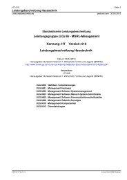 LG 86 - MSRL-Management - Bundesministerium für Wirtschaft ...