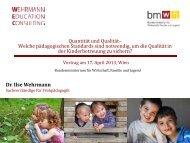Vortrag Wehrmann (PDF, 5MB) - Bundesministerium für Wirtschaft ...