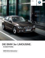 DIE BMW er LIMOUSINE. - BMW Deutschland