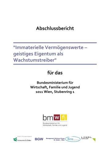 """""""Immaterielle Vermögenswerte – geistiges Eigentum als ..."""
