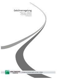 Tarifliste (pdf) - BNP Paribas Fortis