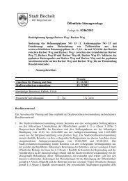 Vorlage aus der Stadtverordnetenversammlung vom 19.12 ... - Bocholt